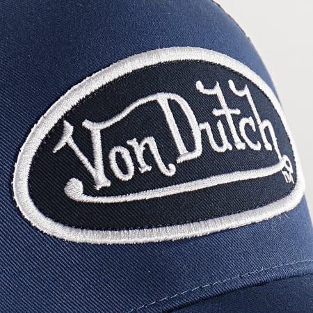 Von Dutch - Casquette Trucker Colour Bleu Marine