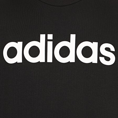 adidas - Sweat Crewneck A Bandes Essential DQ3084 Noir Blanc