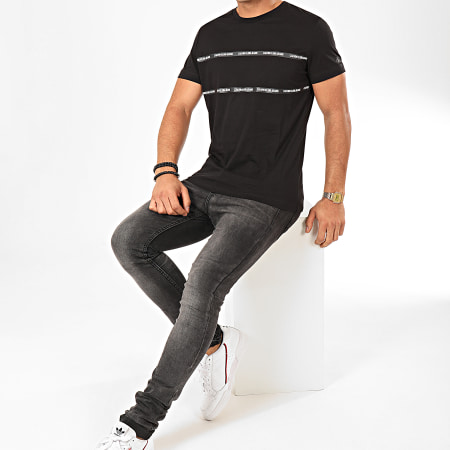 Calvin Klein - Tee Shirt Institutional Tape Detail 4564 Noir