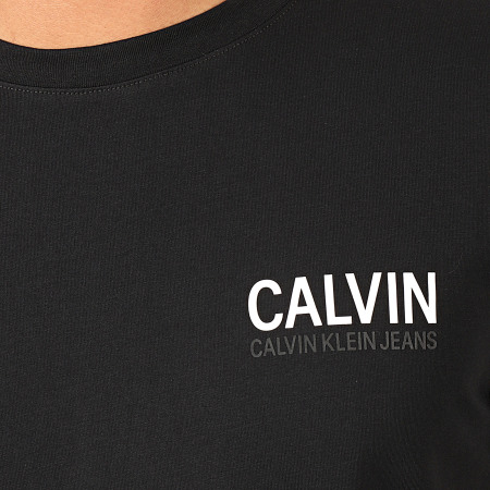 Calvin Klein - Tee Shirt Calvin Stretch 4566 Noir