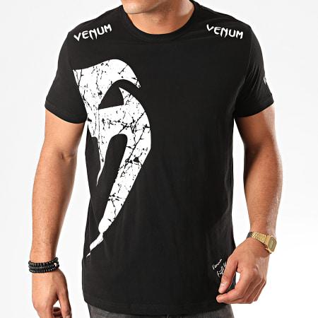 Venum - Tee Shirt Giant 0003 Noir Blanc