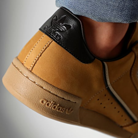 adidas Baskets Continental 80 EG3098 Mesa Nubuck Brown EQT