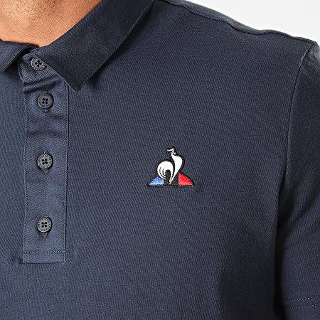 Le Coq Sportif - Polo Manches Courtes Essential N2 1921047 Bleu Marine