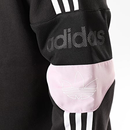 adidas - Sweat Crewneck A Bandes TS Trefoil ED7181 Noir