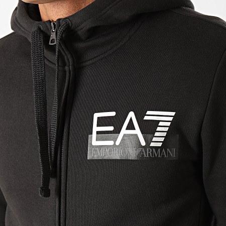 EA7 - Ensemble De Survetement 6GPV57-PJ07Z Noir Argenté