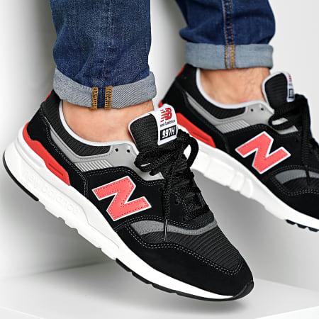 New Balance - Baskets Classics 997 738141-60 Black Red