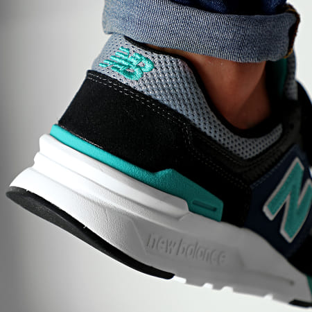 New Balance - Baskets Classics 997 738141-60 White Black Navy