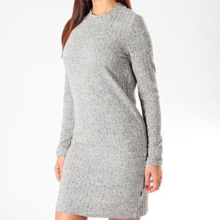Noisy May - Robe Pull Femme Kevin Gris Chiné