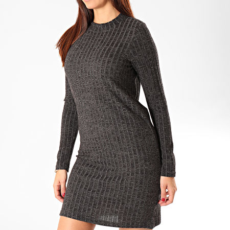 Noisy May - Robe Pull Femme Kevin Gris Anthracite Chiné