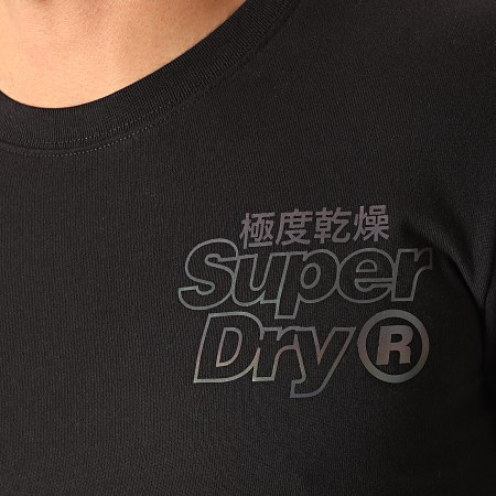 Superdry Tee Shirt Manches Longues Tonal Reactive