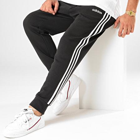 adidas - Pantalon Jogging A Bandes Essential 3 Stripes DQ3095 Noir