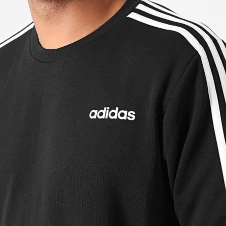 adidas - Sweat Crewneck A Bandes Essential 3 Stripes DQ3083 Noir