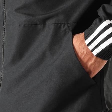 adidas - Ensemble De Survêtement A Bandes MTS Woven DV2464 Noir Blanc