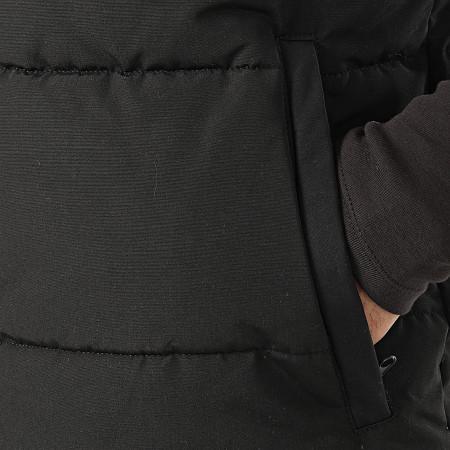 Maison Courch - Doudoune Chauffante Sans Manches Iberis Noir