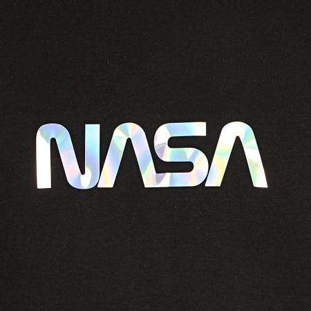NASA - Sweat Capuche Skid Iridescent Noir