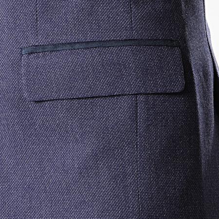 Black Needle - Veste De Costume 20245 Bleu