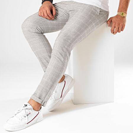 Classic Series - Pantalon Carreaux X-634 Gris