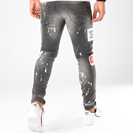 Classic Series - Jean Skinny DHZ-2868-1 Gris Anthracite