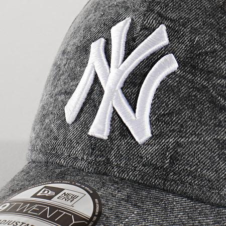 New Era - Casquette 9Twenty Denim 12135001 New York Yankees Gris