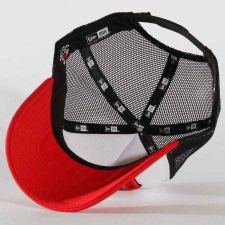 New Era - Casquette Trucker Team 11871270 Chicago Bulls Noir Blanc Rouge