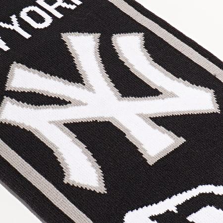 New Era - Echarpe MLB New York Yankees 12134841 Noir Blanc Gris