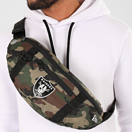 New Era - Sac Banane Camouflage NFL Light Oakland Raiders 12145325 Vert Kaki