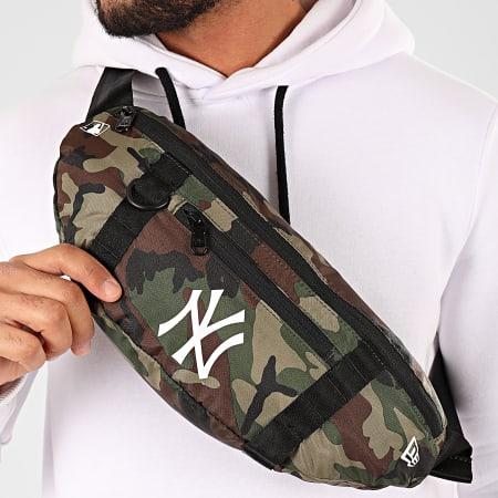 New Era - Sacoche Banane Camouflage MLB New York Yankees 12145411 Vert Kaki