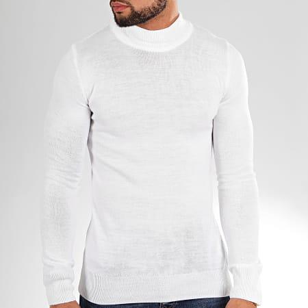 Aarhon - Pull AAP002 Blanc
