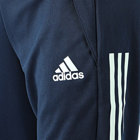 adidas - Pantalon Jogging A Bandes FEF FI6286 Bleu Marine