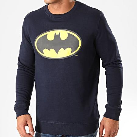 Batman - Sweat Crewneck Original Logo Bleu Marine