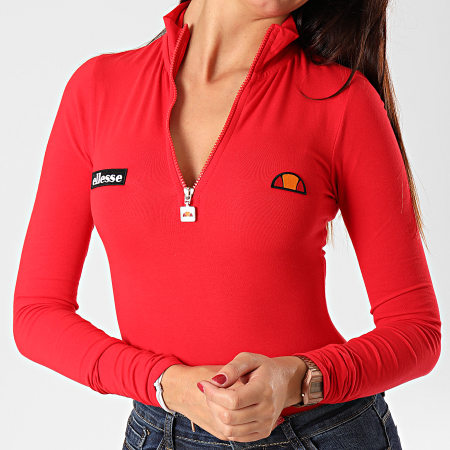 Ellesse - Body Femme Manches Longues Giganto SGD08028 Rouge