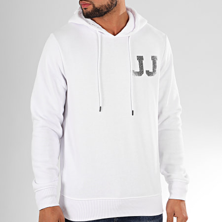 Jack And Jones - Sweat Capuche Thunder Blanc