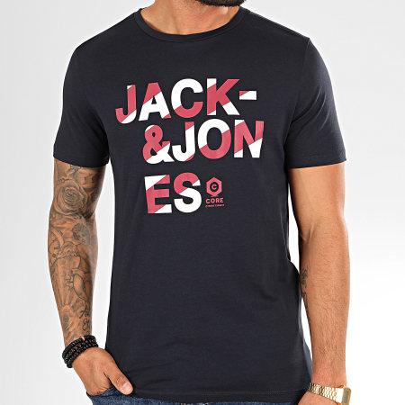 Jack And Jones - Tee Shirt Dada Bleu Marine