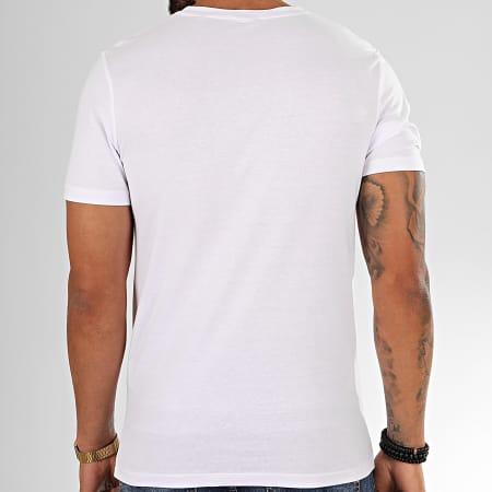 Jack And Jones - Tee Shirt Dada Blanc