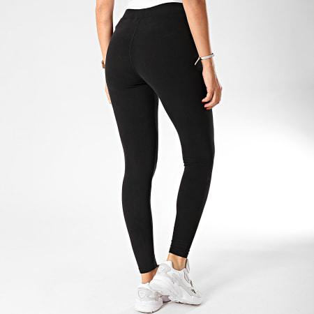 Superdry - Legging Femme Core W7000040A Noir Argenté