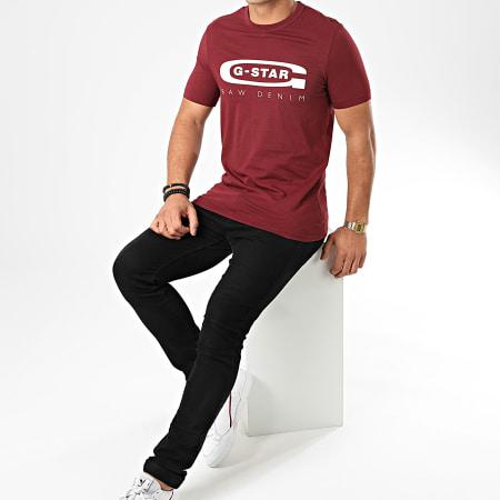 G-Star - Tee Shirt Graphic 4 D15104-336 Bordeaux