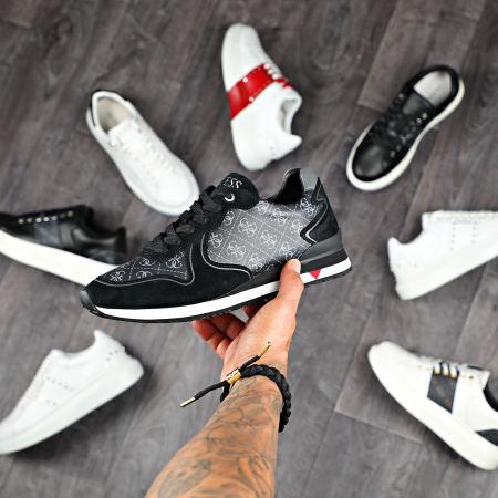 Guess - Baskets FM5NGLFAL12 Black Grey