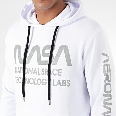 NASA - Sweat Capuche Technology Labs Reflective Blanc