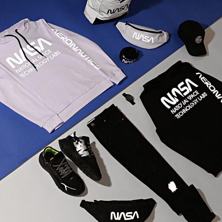 NASA - Sweat Capuche Technology Labs Reflective Noir