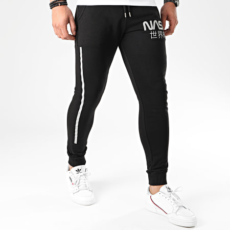 NASA - Pantalon Jogging Japan Reflective Noir