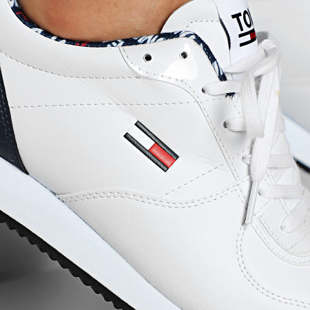 Tommy Jeans - Baskets Casual Tommy Jeans Sneakers 0372 White
