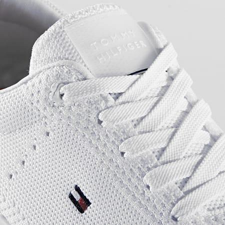 Tommy Hilfiger - Baskets Corporate Knit Modern Sneaker 2600 White