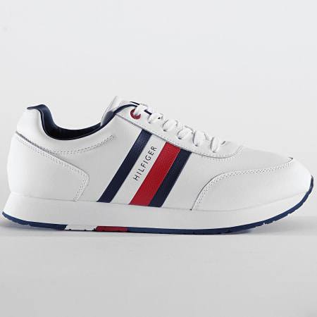 Tommy Hilfiger - Baskets Corporate Leather Flag Runner 2602 White