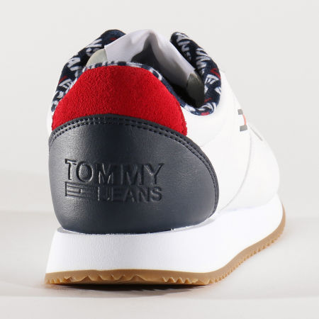 Tommy Jeans - Baskets Femme Casual Tommy Jeans Sneakers 0719 White
