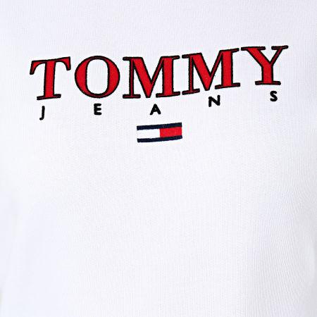 Tommy Jeans - Sweat Crewneck Essential Logo 7543 Blanc