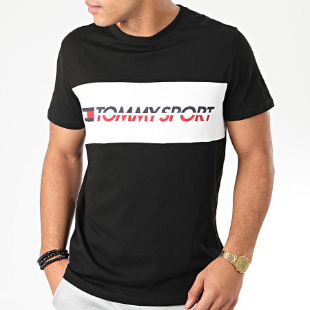 Tommy Sport - Tee Shirt Logo Driver 0486 Noir