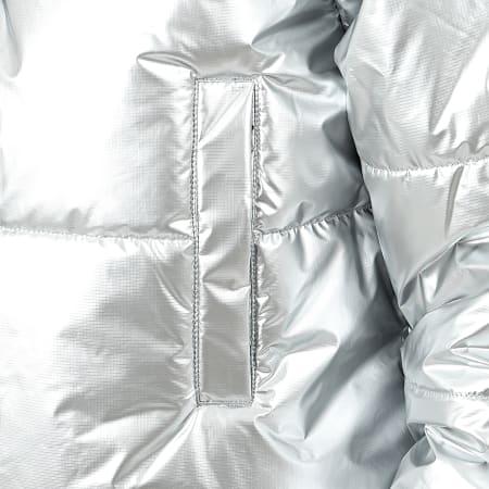 Vans - Doudoune Femme Galactic Spiral Metallic A4CUGH Argenté ...