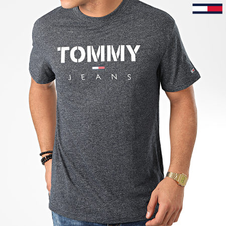 Tommy Jeans - Tee Shirt Tommy Textured 7438 Noir Chiné