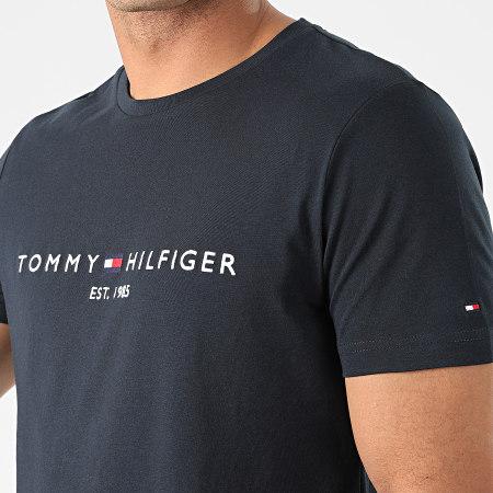 Tommy Hilfiger - Tee Shirt Core Tommy Logo 1465 Bleu Marine