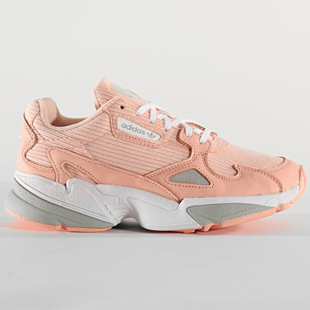 adidas - Baskets Femme Falcon EE5122 Glow Pink Grey Two ...